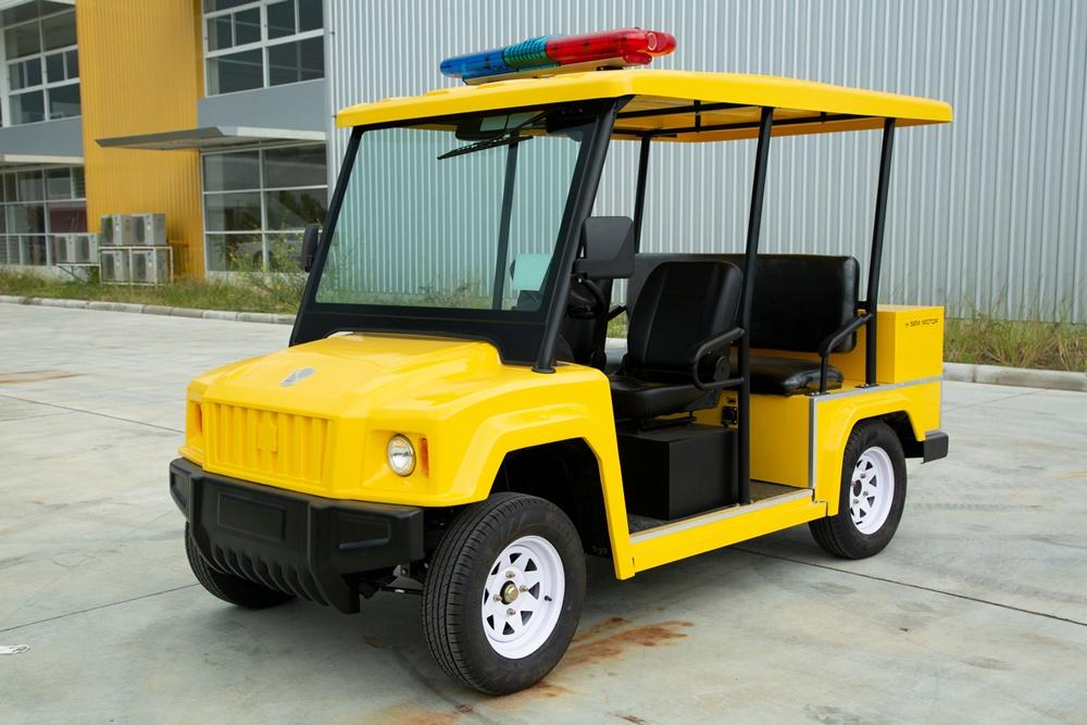 รถชมวิวไฟฟ้าโดยฝีมือคนไทยแบรนด์คนไทย
